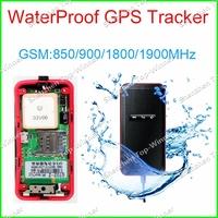 2014 NEWEST! new GT02 waterproof GT02A-2 vehicle tracker TK110 Built-in GSM, Mini Portable GPS tracker