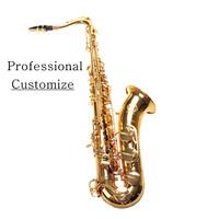 VECKY T-300 Tenor Saxophone b customized  ElectrophoresisGold Brass design from SELMER tenor 54 Professional level