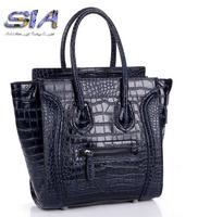 2014 NEW Women Handbag genuine Leather Hobo Clutch Purse famous brand Women's handbags vintage smile bags shoulder messenger bag