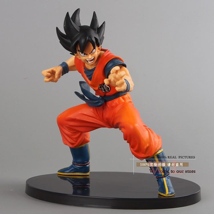 "Free Shipping Dragon Ball Z Figures The Monkey King Goku PVC Action Figure Toy 6""15CM Birthday Christmas Gift DBFG053(China (Mainland))"