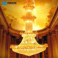 free shipping Crystal pendant light large pendant light modern brief stair lamp long pendant light