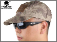 EMERSON tactical a-tacs cap Baseball Cap Military Tactical Army Cap Anti-scrape Grid Fabric camouflage AT 8536