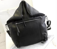2014 new  black folding large capacity one shoulder  women's handbag multi-purpose bag free shipping