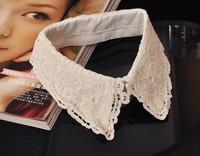 detachable collar 2014 Vintage fake False Collar shirt Woman lace Crochet collars peter pan collares XLX