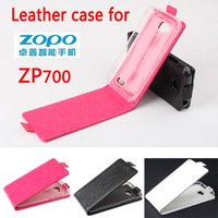 New Arrival!! Original Up-Down Flip PU Leather Case For Zopo ZP700, Free Shipping