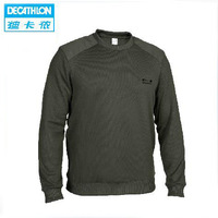 Decathlon Authentic Sports Pullover Men Sweater Thick Velvet Wide Songane Fleece SOLOGNAC