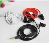 20pcs/lot High quality bass earphone 3.5mm,in-ear fashion earphone for iphone/HTC/PC,8 Colors Music Headphones
