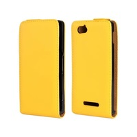 High Quality Genuine Flip Leather Case Cover for Sony Xperia M C1904 C1905 Free Shipping