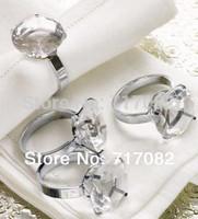 Free Shipping  wedding crystal napkin ring Table Decoration, diamond crystal napkin ring