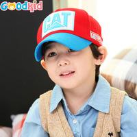 Children letter CAT dimensional embroidery baseball caps, baby sun cap, sport baseball cap, spring visor hats