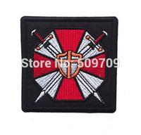 Biohazard Resident Evil Umbrella Corporation U.B.C.S Iron On Patch of Sticker, Game Badges, DIY Cloth Accessories Wholesale