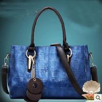 Autumn and winter women's handbag fashion vintage shoulder bag fashion handbag large bag women's handbag