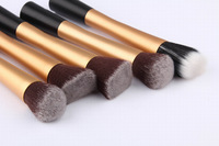 5pcs Cosmetic Advanced Artificial Fiber Facial Make up Brushes Kit Kakuki Makeup Tools Set FreeShipping
