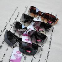 Big discount 2014 new Fashion cheap man's sunglasses Anti-uv sunglasses for male black promotion wholesale free shipping