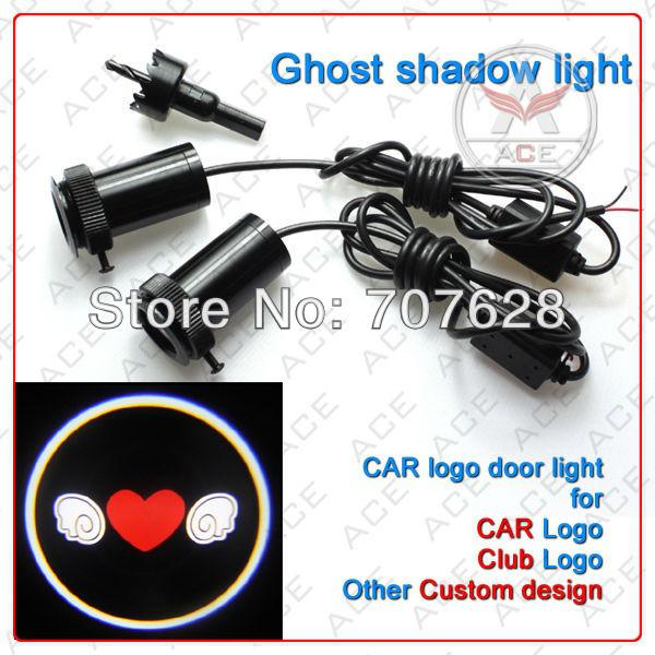 продукт дверь лого проектор /ghost тень