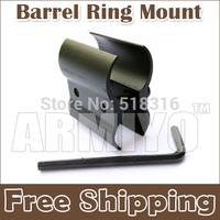 Armiyo New Flashlight & Laser Scope Mount Barrel Ring Mount 8 Figure Mounts Fixture Tactical Hunting  Accessories 2pcs/lot