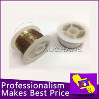 2pcs/Lot,50M 0.10mm Golden Molybdenum Wire Cutting line For IPhone 4/4s, IPhone5, Samsung Glass LCD Separator Refurbish