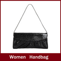 Fashion Snake skin Genuine  PU Leather Women's Purse/Clutch Evening Bag/handbag