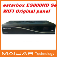 1pcs es800hd se  Enigma2 work for OE2.0 DVB-S2   receiver estarbox ES800HD SE with wifi estar sim original panel free shipping