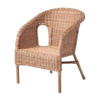 1 piece rattan children's armchair