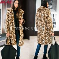 NBA263 Free Shipping Women Outwear Long Style Cool Fur Jacket Women Overcoat Warm Faux Fur Soft Fur Coat
