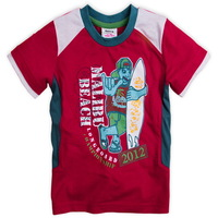 Hot summer cotton short sleeve boys t-shirt, patchwork cartoon O-neck T-shirt for baby boys,cool children's clothing C1602