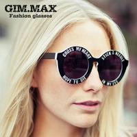 Vintage retro sunglasses women brand designer thin legs small round frame sun glasses 2014 new fashion oculos de sol