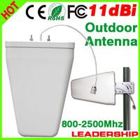 5PCS/LOT Free shipping  800-2500Mhz LDP panel 3G outdoor antenna GSM DCS UMTS WCDMA 3G Outdoor Logarithm Directional antenna