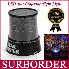 Amazing Dreamlike Colorful Star Master Night Light LED Sky Star Ceiling Light Projector Lamp Night Lamp(China (Mainland))