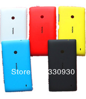 100% Original New Back Housing Door Battery Cover Case+ Side Key Buttons For Nokia lumia 520 ,5 COLORs  Retail Free Shipping