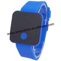 100pcs/lot,Newest Girls/Boys LED digital Watch Ultra-thin Fashion Design wrist watch Woman Unisex Students Electronic Watches
