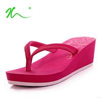 SALE New 2014 Summer Shoes platform sandals for women sandal wedges flip flops slip-resistant high-heeled slippers Free Delivery