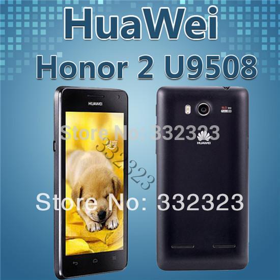 New Original Huawei U9508 Honor 2 3G WCDMA/GSM Quad core 4.5'' touch screen K3V2 1.4GHz CPU 8MP camera Android 4.0 Smart phone(China (Mainland))