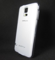 2Pcs/lot Best Clear Transparent Crystal Hard Case for Samsung Galaxy S5