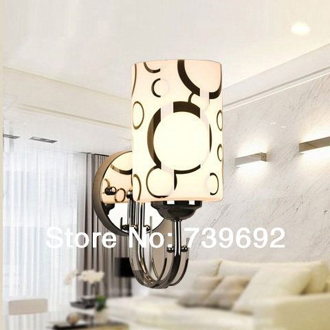 New fashion E27 Modern brief led stair small wall lamps single head slider wall lights for lobby,living room(China (Mainland))