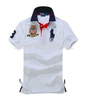 Fashion high quality men's T-shirt Leisure short-sleeved T-shirt Men's short-sleeved t-shirt lapel pure