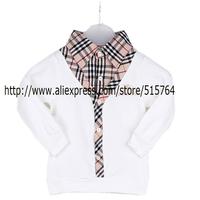 Spring  Autumn fashion boy t shirt kids casual brand plaid lapel boys T shirt boy clothing cotton children's clothes