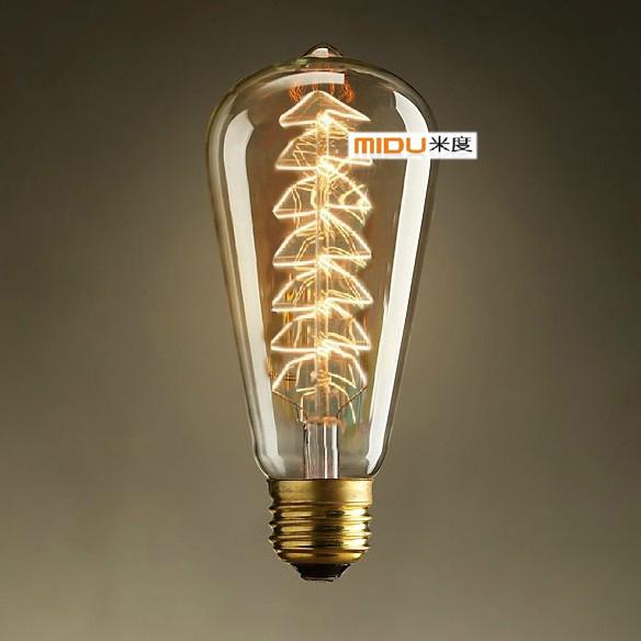 New Arrival Vintage Christmas Tree Edison Light bulb,60W,E27,220V,DIY Handmade Fixture,Best Gift For Friend(China (Mainland))