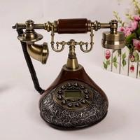 Classic Fashion Creativity Telephone Caller ID Telephone Vintage Antique Retro Telephone Free Shipping