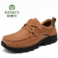 Spring genuine new 46,47,48 big size men's shoes, outdoor leisure men's shoes, fashion Male shoes