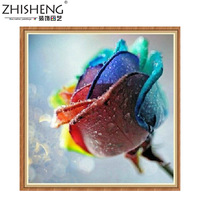 DIY Diamond Painting Colorful colorful roses Marriage room Parlor Diamond embroidery