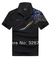 2013 pique cotton turn-down collar male t-shirt casual slim class service customize T-shirt short-sleeve shirt plus size