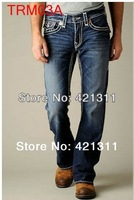 2014 new TRM03 Wholesale - Fashion men's jeans man JeanThe big code mens jeans size:30-40