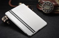 Flip PU Leather Folio Smart Magnetic Book Case Cover Stand + stylus for Apple iPad Air 5 5th