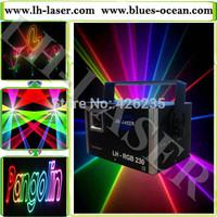 1W mini RGB laser with 30kpps scanner and analog modualtion dj laser light/disco light