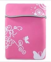The laptop sleeve butterfly flower package thicker neoprene sleeve sleeve