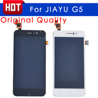 100% Original JY-G5 Lcd Display Touch Screen Replacement Assembly For JIAYU G5 Black and White Free shipping