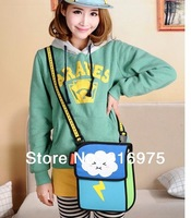 Hot sale!!! 3d/2d creative cartoon bag  5 styles and 5 colours to choose Cute canvas shoulder bag