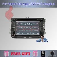 Koason Volkswagen Golf Polo DVD GPS original UI factory design aircondition parking sensor display