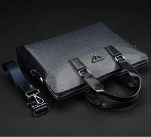 2014 Unique Designer Brand New PVC Men Fashion Briefcases / Portfolio For Documents High Quality Men's Handbags / Shoulder bag(China (Mainland))